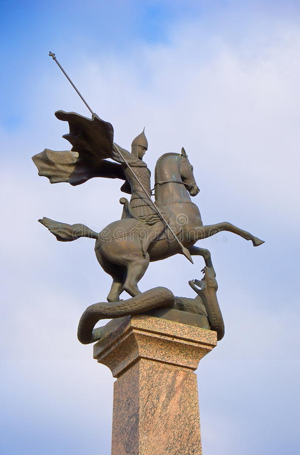 St. George the Victorious royalty free stock photo