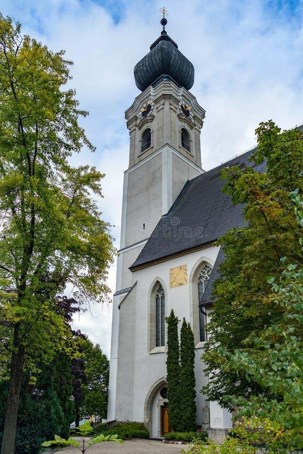 St GEORGEN, AUSTRIA SETTENTRIONALE /AUSTRIA - 18 SETTEMBRE: L'esterno rivaleggia immagini stock