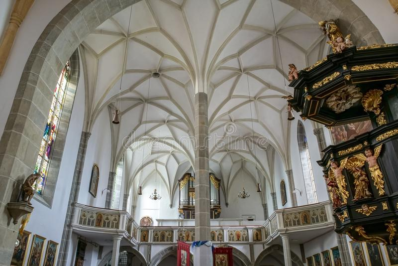 ST. GEORGEN, UPPER AUSTRIA/AUSTRIA - SEPTEMBER 18 : Interior Vie royalty free stock photography