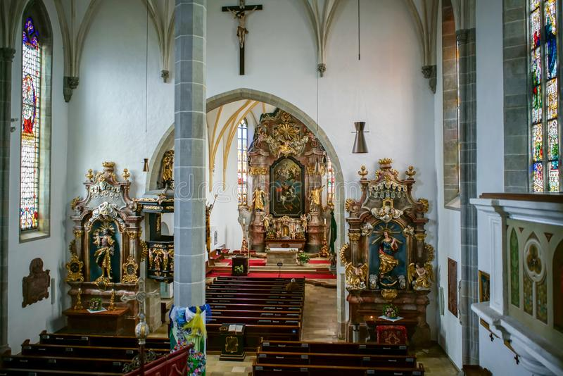 ST. GEORGEN, UPPER AUSTRIA/AUSTRIA - SEPTEMBER 18 : Interior Vie royalty free stock image