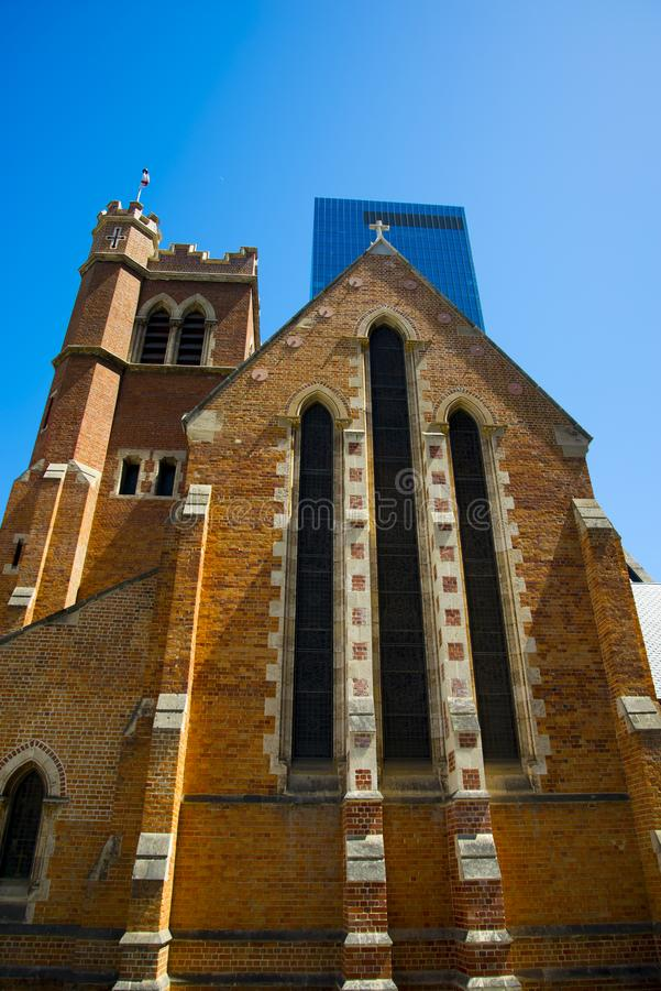 St Georges Cathedral. Perth - Australia royalty free stock images