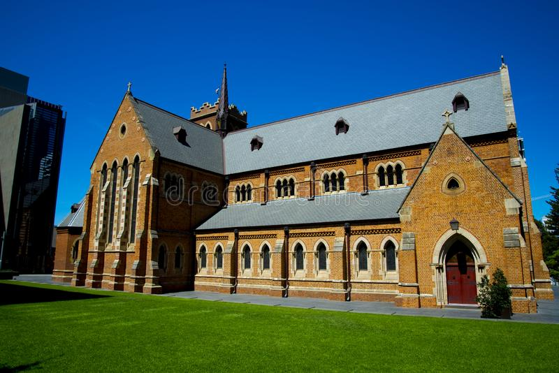 St Georges Cathedral. Perth - Australia stock photo
