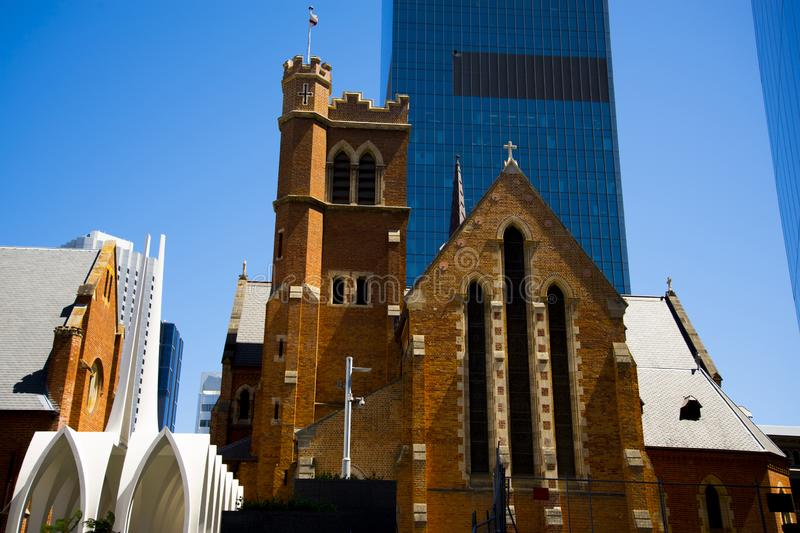 St Georges Cathedral. Perth - Australia royalty free stock photo