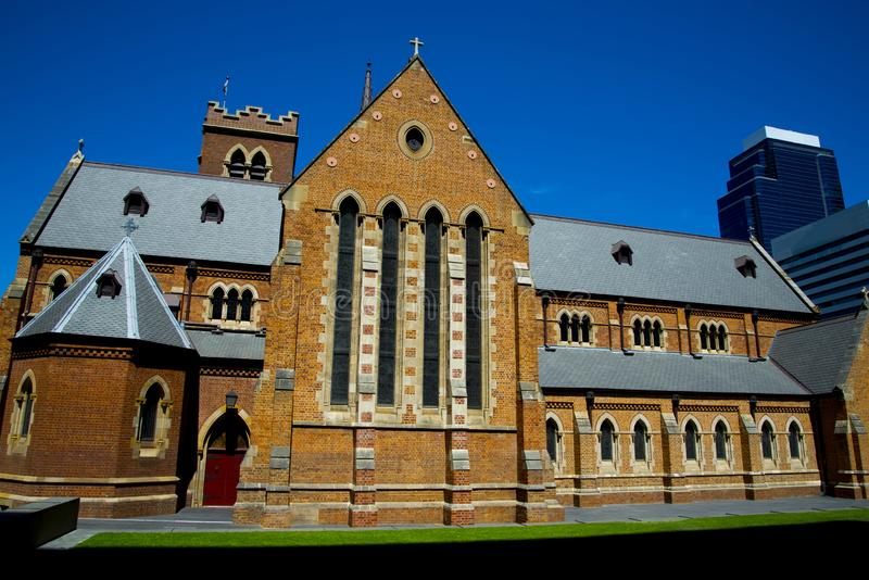 St Georges Cathedral. Perth - Australia stock image