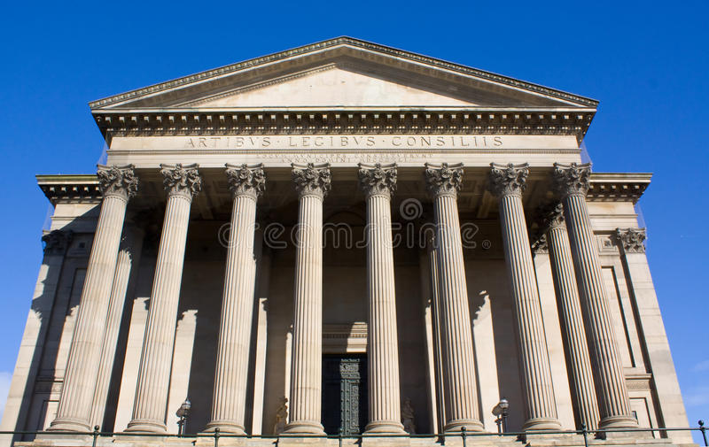 St georges hall royalty free stock photography