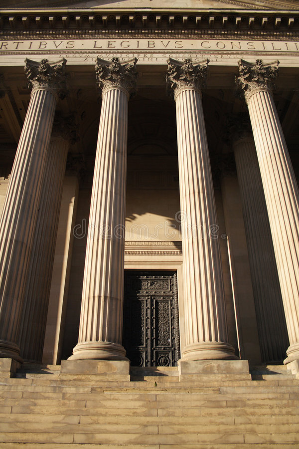 St Georges Hall royalty free stock photos