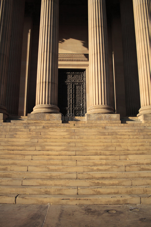 St Georges Hall 2 royalty free stock photos