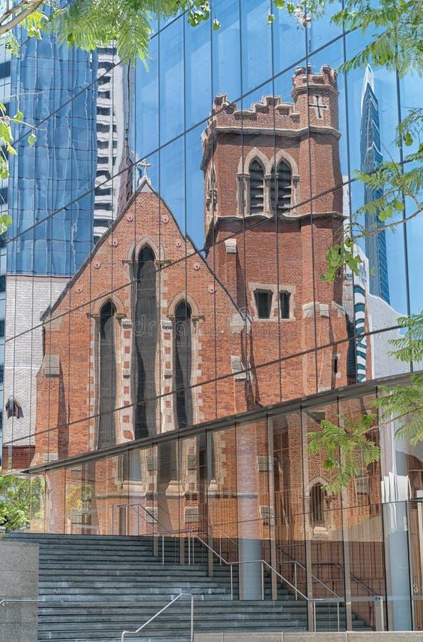 St Georges katedra, Perth, Australia zdjęcie royalty free