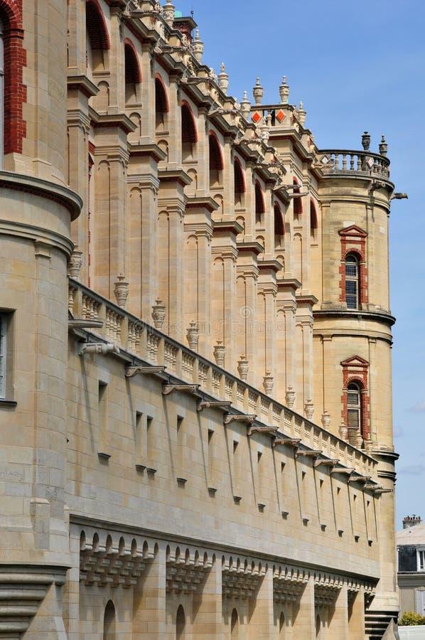 St Germain en Laye, Frankrike - kan 2 2016: historisk gammal ensemble arkivbilder