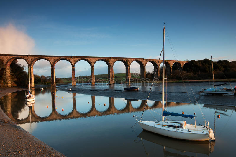 St.Germans Viaduct stock fotografie