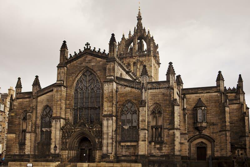 St. Giles大教堂,爱丁堡 免版税库存图片