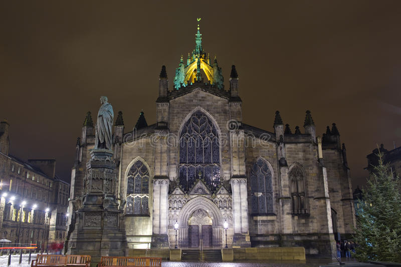 St Giles Cathedral Royalty Free Stock Photos