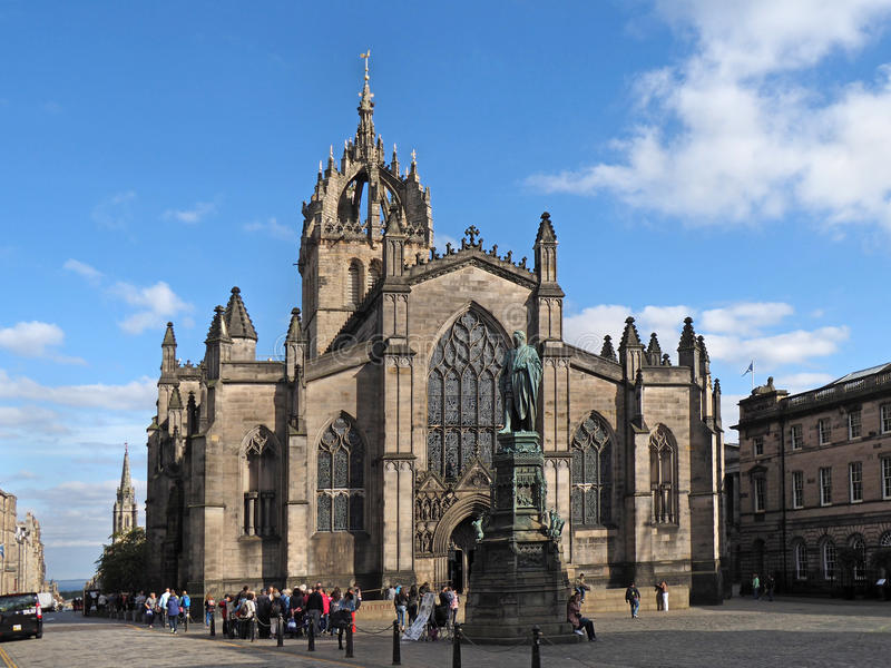 St Giles Cathedral arkivbild