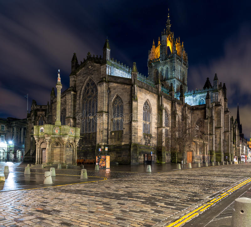 St Giles Cathedral imagem de stock royalty free