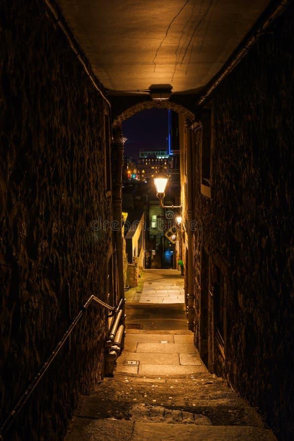 St Giles Cathedral in Edinburgh stock foto's