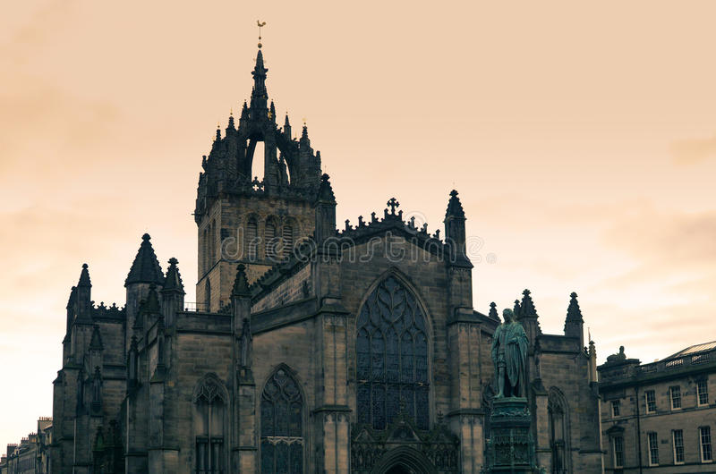 St Giles Cathedral Edinburgh photographie stock libre de droits