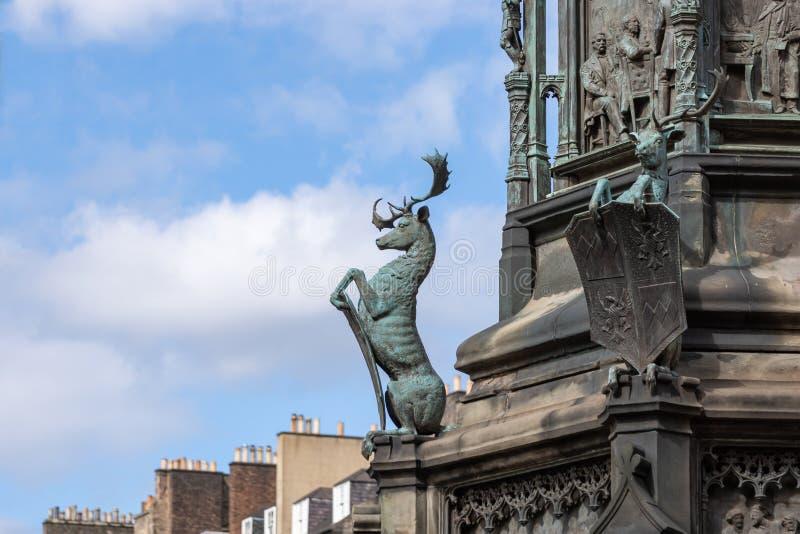 St Giles Cathedral em Edimburgo, Esc?cia foto de stock royalty free