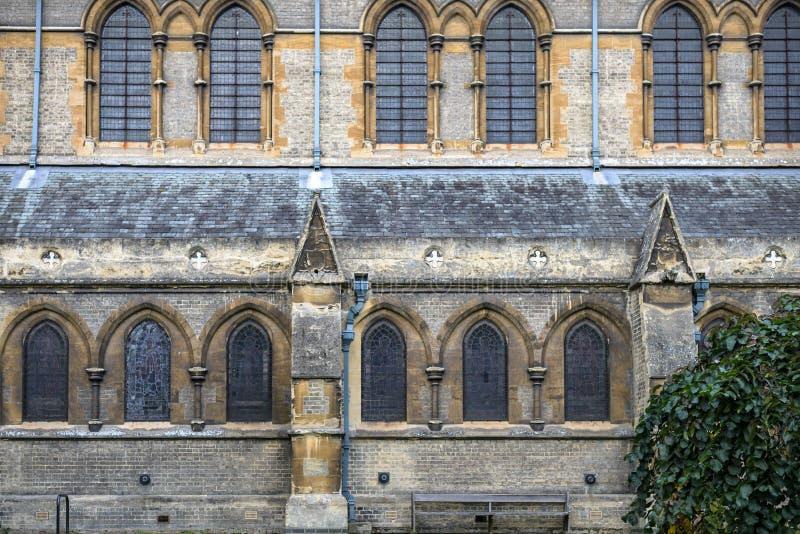 St giles church castle street cambridge stock photo