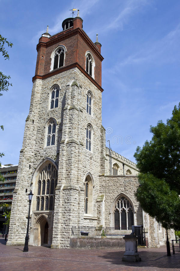 Download St. Giles Without Cripplegate Church In London Stock Image - Image: 41691025