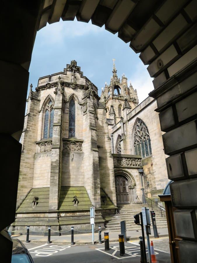 St Giles ` Kathedraal Edinburgh, Schotland, het UK royalty-vrije stock fotografie
