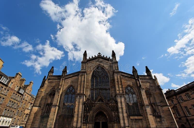 St Giles Kathedraal. Edinburgh. Schotland. het UK. royalty-vrije stock foto