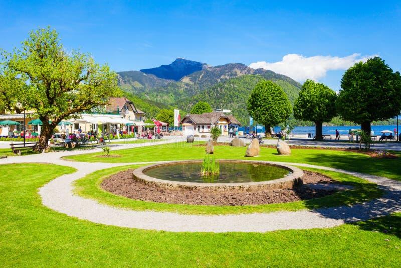 St Gilgen在奥地利 免版税库存照片