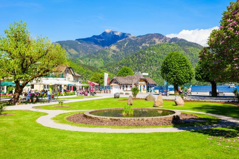 St Gilgen в Австрии стоковые фото