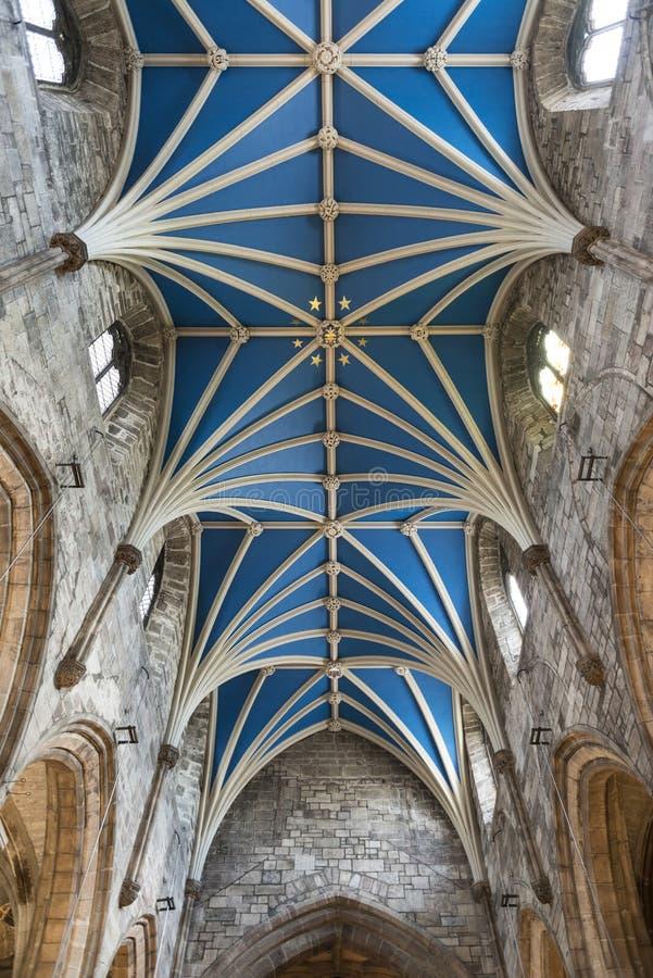 St Gilles Cathedral Edinburgh Scotland imagem de stock royalty free