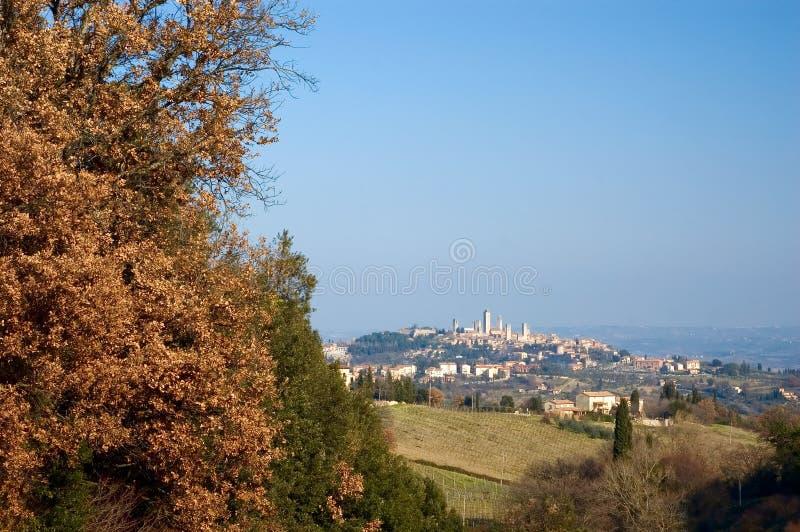 St Gimignano, Toscana, Italia immagini stock libere da diritti
