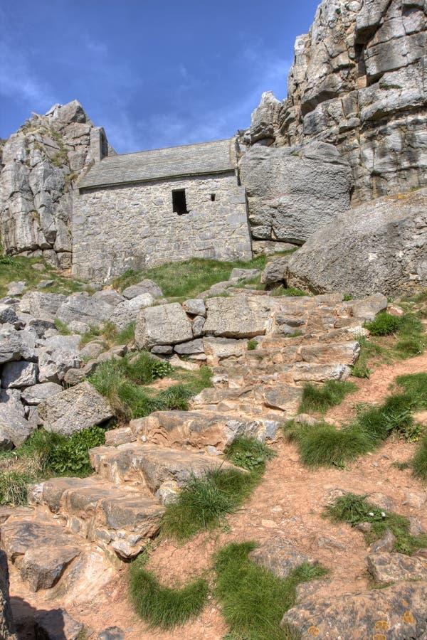St Govans Church ruins