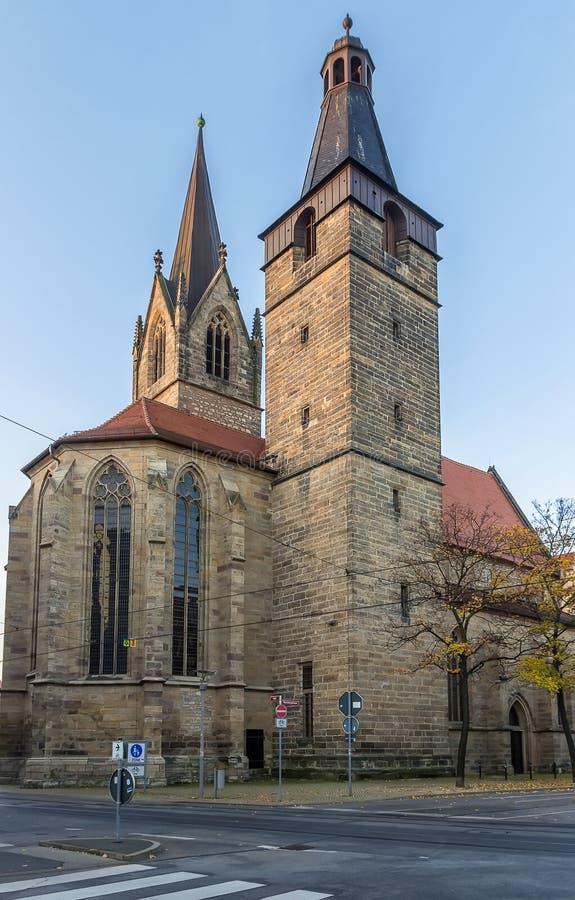 St Gregor de Kaufmannskirche, Erfurt, Alemanha fotos de stock royalty free