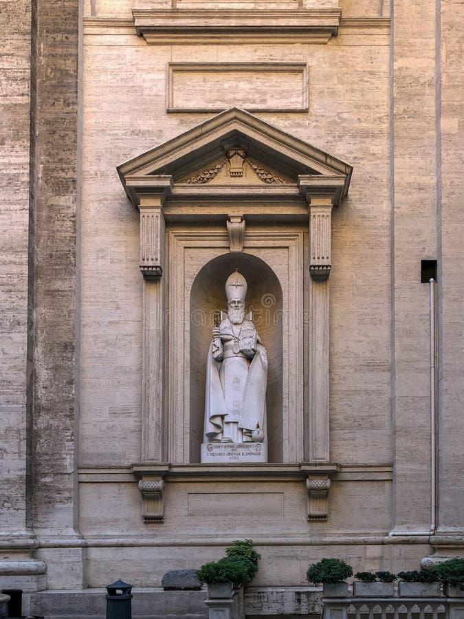 St Gregorius Armenian - Cidade Estado do Vaticano fotos de stock