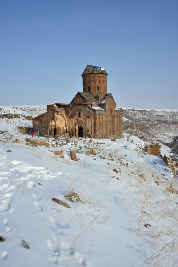 St Gregory церков Tigran Honents в ани стоковая фотография