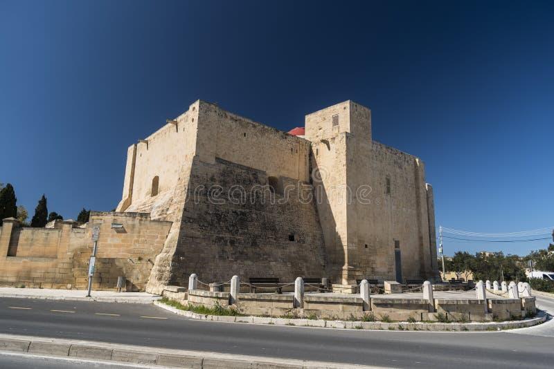 St Gregory Kerk, Zejtun, Malta stock foto