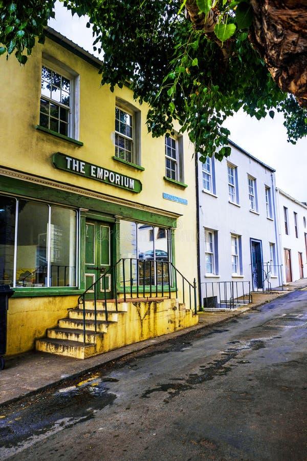 St Helena Island de Jamestown do Emporium fotos de stock royalty free
