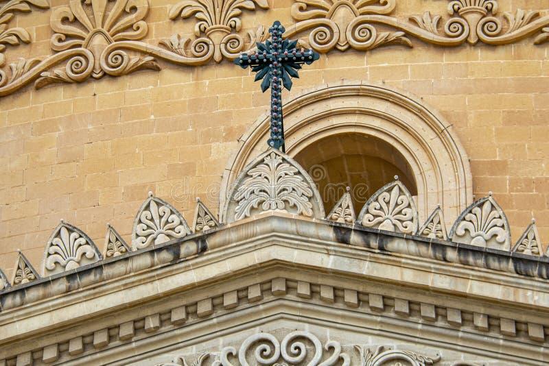 St Helens Basilica. St Helen's Basilica in Birkirkara, Malta royalty free stock photos