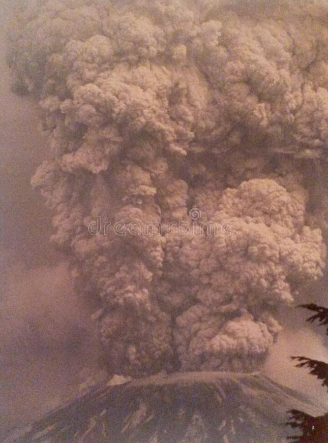 St Helens Uitbarsting royalty-vrije stock fotografie