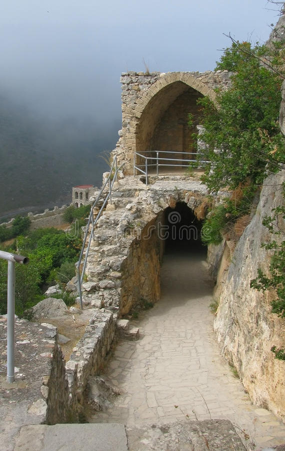 Free St. Hilarion Castle, Northem Cyprus Royalty Free Stock Photos - 17619388