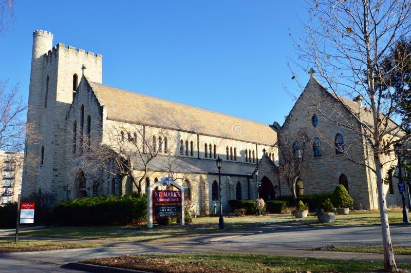 St Iglesia de la marca imagen de archivo libre de regalías