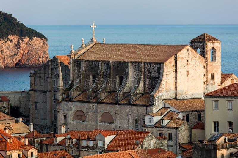 St Ignatius de Loyola Church em Dubrovnik imagem de stock royalty free