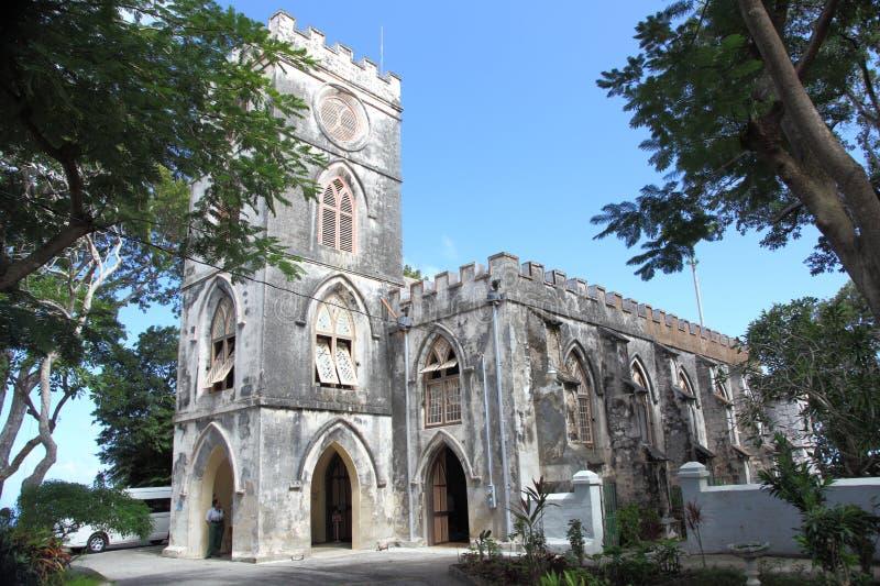 ST IGREJA PAROQUIAL de JOHN, Barbados fotos de stock