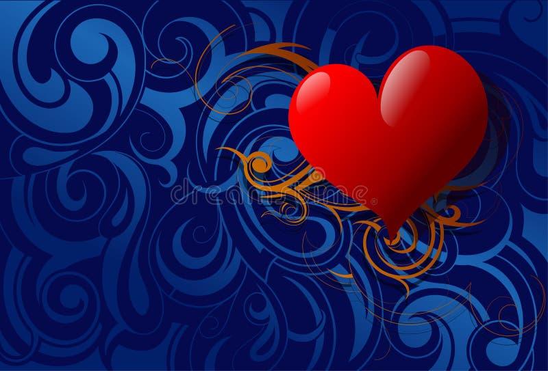 St. Ilustração dos Valentim ilustração royalty free