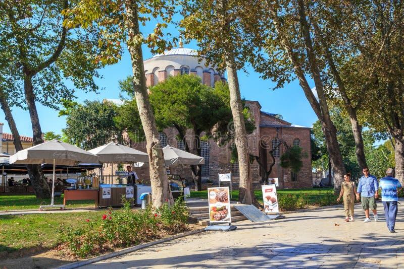 St. Irene Church, Istanbul stock foto