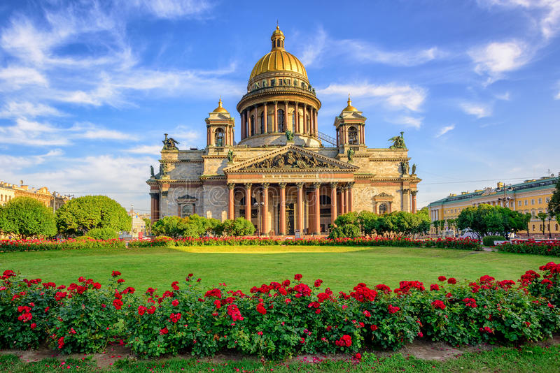 St Isaac cathedral, Saint Petersburg, Russia. St Isaac cathedral in Saint Petersburg, Russia, is the biggest christian orthodox church in the world royalty free stock photos
