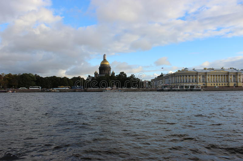 St. Isaac's Cathedral, Saint Petersburg stock photo