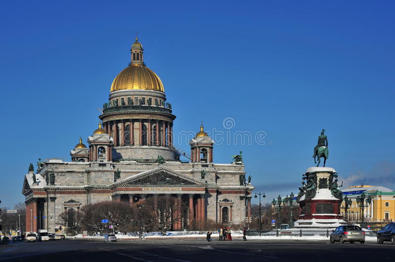Download St. Isaac's Cathedrall stock image. Image of petersburg - 25857763