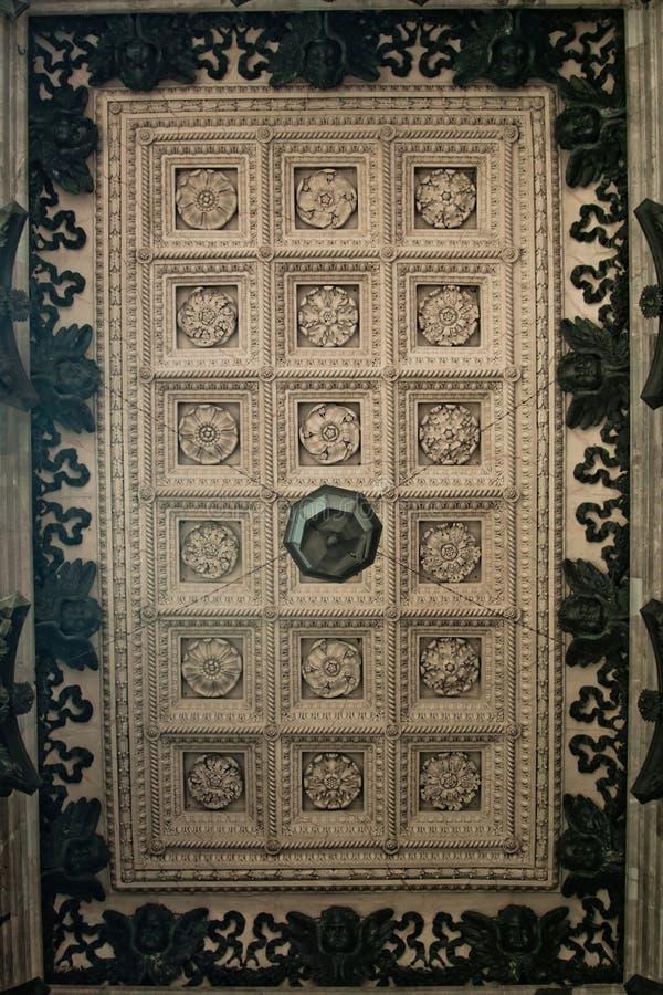 st isaac s celling собора стоковая фотография rf