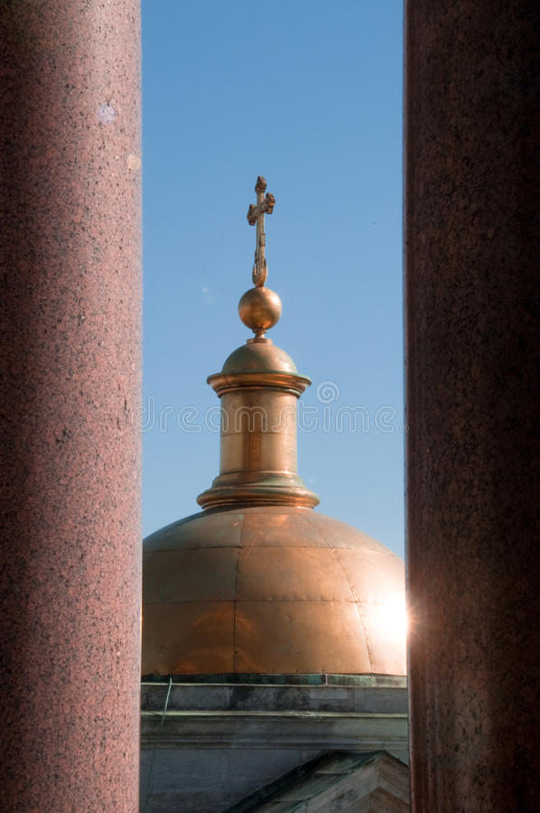 St Issacs Cathedral In St Petersburg Royalty Free Stock Photography