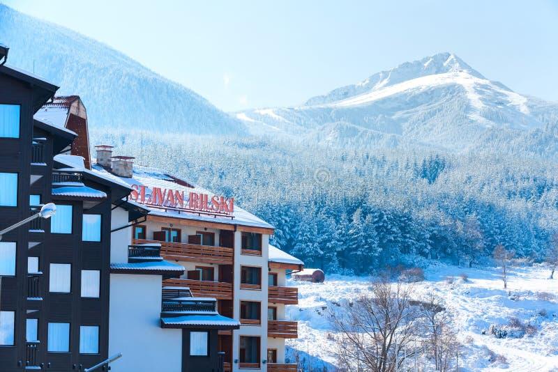 St ivan rilski hotel and snow mountains panorama in bulgarian ski download st ivan rilski hotel and snow mountains panorama in bulgarian ski resort bansko editorial publicscrutiny Gallery
