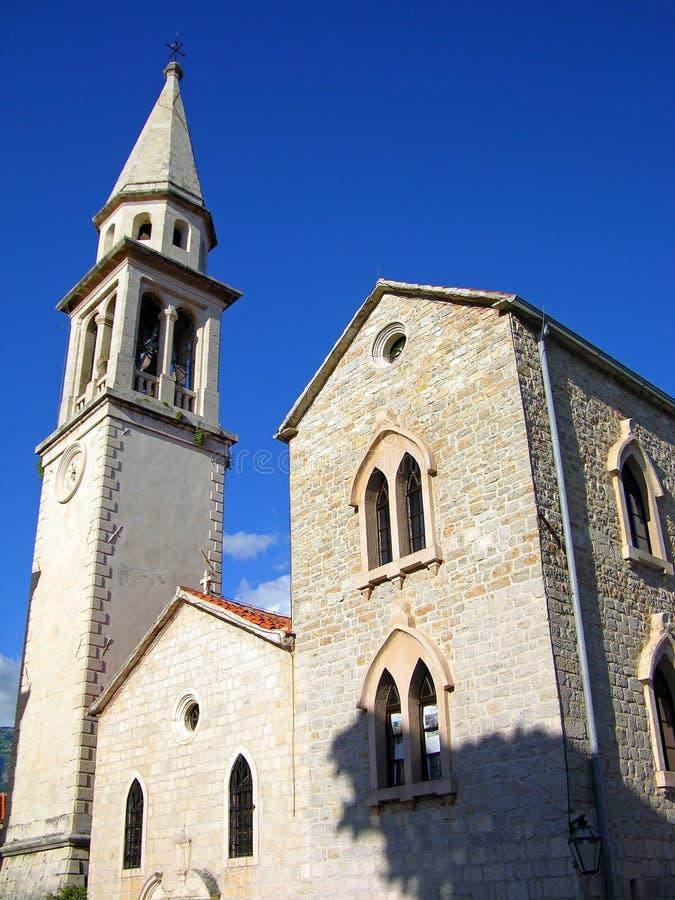 St. Ivan's Church, Budva, Montenegro royalty free stock image